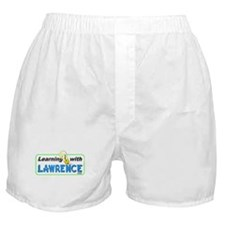 Learning with Lawrence Boxer Shorts