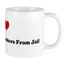 I Love Bailing Out Fat Hooker Mug