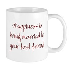 Happiness Is Small Mug