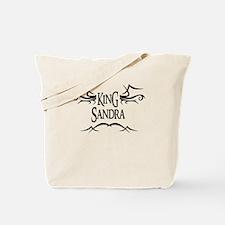 King Sandra Tote Bag