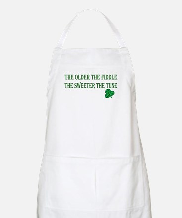 Irish saying ..  BBQ Apron