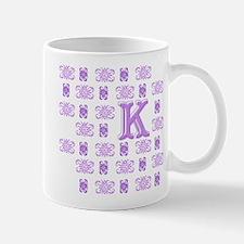 "Monogrammed ""K"" Mug"