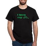 I love my bike (with image) Dark T-Shirt