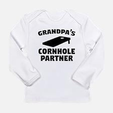 Grandpas Cornhole Partner Long Sleeve T-Shirt