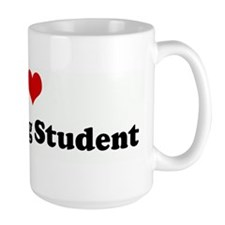 I Love A Nursing Student Mug