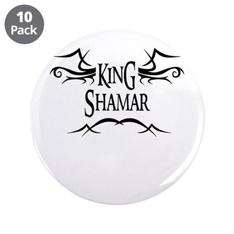King Shamar 3.5 Button (10 pack)