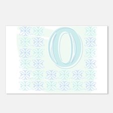 """Monogrammed """"O"""" Postcards (Package of 8)"""