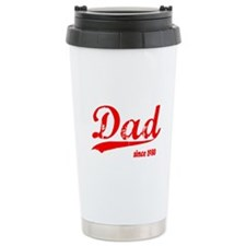 Dad since 1980 Travel Coffee Mug