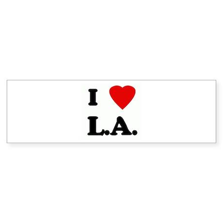 I Love L.A. Bumper Sticker