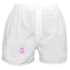 "Monogrammed ""S"" Boxer Shorts"