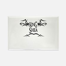 King Shea Rectangle Magnet
