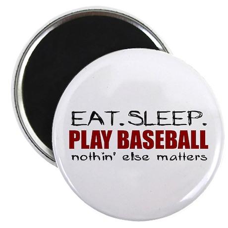 Eat Sleep Play Baseball Magnet
