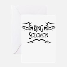 King Solomon Greeting Card