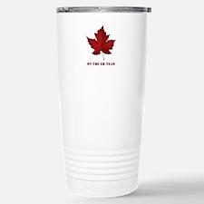On the EH Team! Oh Canada! Travel Mug