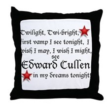 Cute Twilight fans Throw Pillow