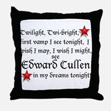 Cute Twilight fan Throw Pillow