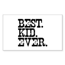 Best Kid Ever Rectangle Sticker 10 pk)