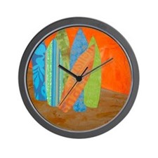 Hawaiian Wall Clock