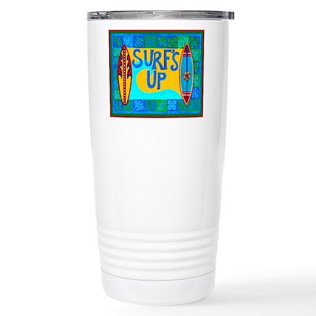 Hawaiian Stainless Steel Travel Mug