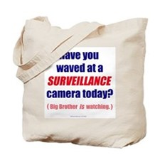 Surveillance Camera Tote Bag