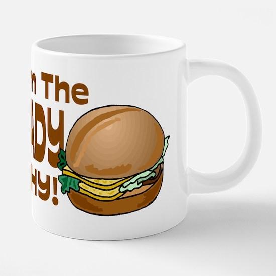 because im the lunch lady.p 20 oz Ceramic Mega Mug