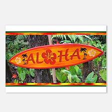 Hawaiian Postcards (Package of 8)