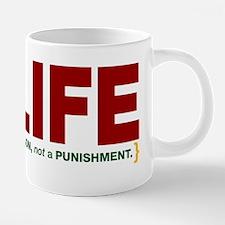 vote for life bumper.png 20 oz Ceramic Mega Mug