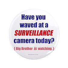"Surveillance Camera 3.5"" Button"