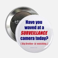 "Surveillance Camera 2.25"" Button"