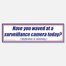 Surveillance Camera (Bumper Sticker)