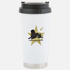 Labrador Retriever Stars Travel Mug