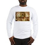 Raphael School of Athens Long Sleeve T-Shirt