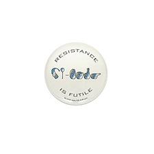 CI-Borg Resistance Mini Button (100 pack)