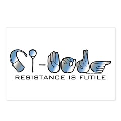 CI-Borg Resistance Postcards (Package of 8)