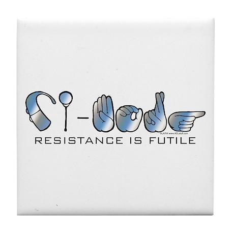 CI-Borg Resistance Tile Coaster