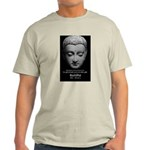 Buddhist Religion: Gift of Truth Ash Grey T-Shirt