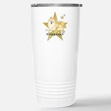 Pomeranian Stars Travel Mug