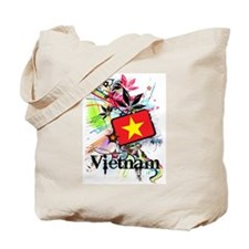 Flower Vietnam Tote Bag