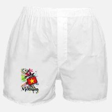 Flower Vietnam Boxer Shorts