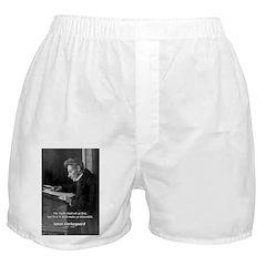 Truth Existentialist Kierkegaard Boxer Shorts