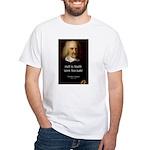 Thomas Hobbes Truth White T-Shirt