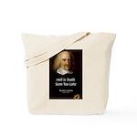 Thomas Hobbes Truth Tote Bag