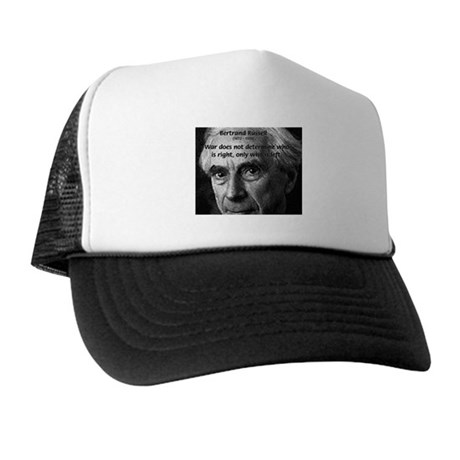 Bertrand Russell Trucker Hat