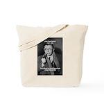 Existentialist Jean-Paul Sartre Tote Bag