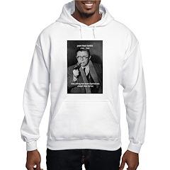 Existentialist Jean-Paul Sartre Hoodie