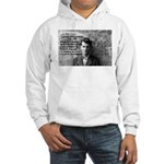 Ludwig Wittgenstein Hooded Sweatshirt