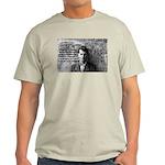 Ludwig Wittgenstein Ash Grey T-Shirt