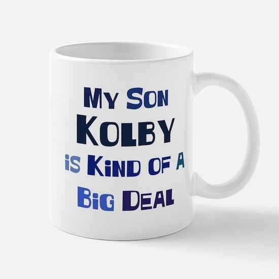 My Son Kolby Mug