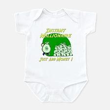 INSTANT MILLIONAIRE Infant Bodysuit