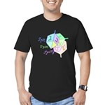 Spin Spin Spin Dreidels Men's Fitted T-Shirt (dark